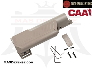 THORDSEN / CAA STANDARD PISTOL CHEEK REST KIT - FDE - 5022T