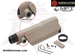 THORDSEN / MFT ENHANCED PISTOL CHEEK REST KIT - FDE - 5034T