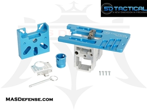 5D TACTICAL AR-15 / AR-9 PRO UNIVERSAL 80% LOWER RECEIVER ROUTER JIG - 5D-JIG15