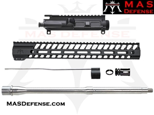 "16"" 5.56 AR-15 BUILD KIT - 15"" NERO M-LOK - NOT ASSEMBLED - MID LENGTH GAS"