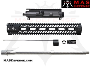 "16"" 5.56 AR-15 BUILD KIT - 15"" SQUADRON LIGHTWEIGHT QUAD RAIL - NOT ASSEMBLED - MID LENGTH GAS"