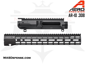 "AERO PRECISION AR-10 .308 M5 UPPER RECEIVER AND 15"" ATLAS R-ONE M-LOK HANDGUARD - APAR308503C AND APRA538705A"