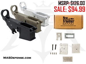 AR-15 80% LOWER AND NEW FRONTIER 80% LOWER COMPLETION JIG