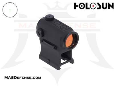 HOLOSUN ELITE GREEN DOT SIGHT - SHAKE AWAKE - HE403B-GR