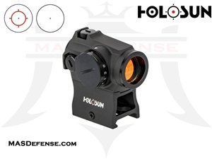 HOLOSUN RED CIRCLE / DOT SIGHT - ROTARY SWITCH - HS503R