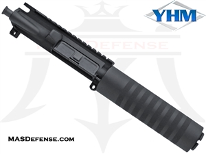 "4.75"" 9MM BARRELED UPPER - YANKEE HILL 7.23"" KNURLED"