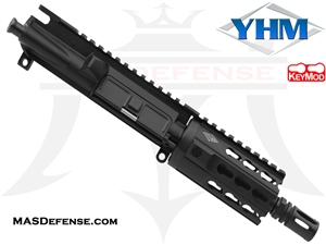 "4.75"" 9MM BARRELED UPPER - YANKEE HILL 4.25"" KR7 KEYMOD"