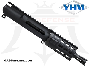 "4.75"" 9MM BARRELED UPPER - YANKEE HILL 4.25"" KR7 KEYMOD - YHM ANNIHILATOR FLASH HIDER"
