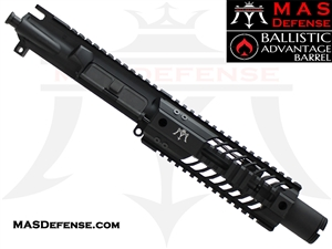 "6"" 300 BLACKOUT BARRELED UPPER - MAS SQUADRON 7"" LIGHTWEIGHT QUAD RAIL - BALLISTIC ADVANTAGE BARREL"