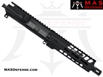 "7.5"" 300 BLACKOUT AR-15 BARRELED UPPER - MAS DEFENSE NERO 7.25"" M-LOK RAIL"