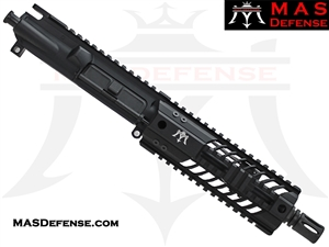 "7.5"" 300 BLACKOUT AR-15 BARRELED UPPER - MAS DEFENSE SQUADRON 7"" LIGHTWEIGHT QUAD RAIL"
