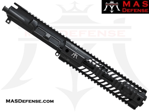 "7.5"" 300 BLACKOUT AR-15 BARRELED UPPER - MAS DEFENSE SQUADRON 9.87"" LIGHTWEIGHT QUAD RAIL"