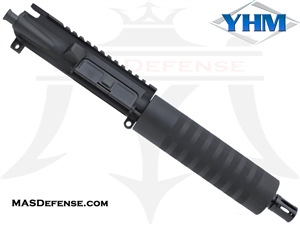 "7.5"" 9MM BARRELED UPPER - YANKEE HILL 7.23"" KNURLED"