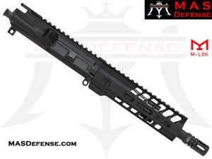 "8.5"" 300 BLACKOUT AR-15 BARRELED UPPER - MAS DEFENSE NERO 7.25"" M-LOK RAIL - BALLISTIC ADVANTAGE BARREL"