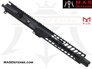 "8.5"" 300 BLACKOUT AR-15 BARRELED UPPER - MAS DEFENSE NERO 9.87"" M-LOK RAIL - BALLISTIC ADVANTAGE BARREL"