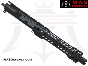 "8.5"" 300 BLACKOUT AR-15 BARRELED UPPER - MAS DEFENSE RIDGELINE 9.87"" M-LOK RAIL"