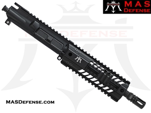 "8.5"" 300 BLACKOUT AR-15 BARRELED UPPER - MAS DEFENSE SQUADRON 7"" LIGHTWEIGHT QUAD RAIL - BALLISTIC ADVANTAGE BARREL"