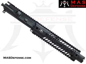 "8.5"" 300 BLACKOUT AR-15 BARRELED UPPER - MAS DEFENSE SQUADRON 9.87"" LIGHTWEIGHT QUAD RAIL - BALLISTIC ADVANTAGE BARREL"