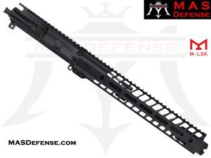 "10.5"" 300 BLACKOUT AR-15 BARRELED UPPER - MAS DEFENSE NERO 12.62"" M-LOK RAIL"
