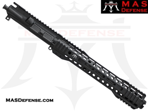 "10.5"" 300 BLACKOUT AR-15 BARRELED UPPER - MAS DEFENSE RIDGELINE 12.62"" M-LOK RAIL"