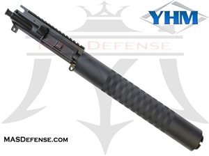 "10.5"" 300 BLACKOUT BARRELED UPPER - YANKEE HILL 12.52"" KNURLED"
