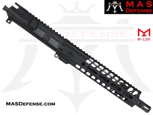 "10.5"" 5.56 / .223 AR-15 BARRELED UPPER - MAS DEFENSE NERO 9.87"" M-LOK RAIL"