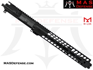 "10.5"" 5.56 / .223 AR-15 BARRELED UPPER - MAS DEFENSE NERO 12.62"" M-LOK RAIL"