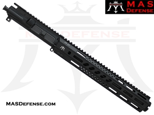 "10.5"" 5.56 / .223 AR-15 BARRELED UPPER - MAS DEFENSE 12.62"" MW8 OCTAGON M-LOK RAIL"
