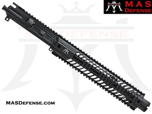 "10.5"" 5.56 / .223 AR-15 BARRELED UPPER - MAS DEFENSE SQUADRON 12"" LIGHTWEIGHT QUAD RAIL"