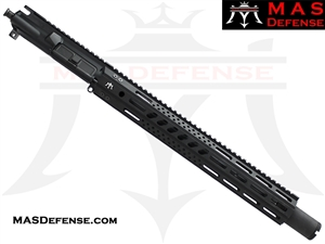 "14.5"" 5.56 / .223 BARRELED UPPER - MAS DEFENSE 15"" MW8 OCTAGON M-LOK RAIL"