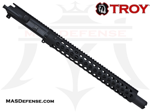 "14.5"" 5.56 / .223 BARRELED UPPER - TROY ALPHA RAIL 15"" - BALLISTIC ADVANTAGE BARREL"