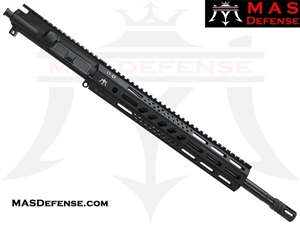 "16"" 300 BLACKOUT AR-15 BARRELED UPPER - MAS DEFENSE 12.62"" MW8 OCTAGON M-LOK RAIL"