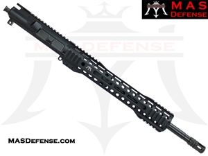 "16"" 300 BLACKOUT BARRELED UPPER - MAS DEFENSE RIDGELINE 12.62"" M-LOK RAIL"