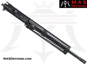 "16"" 300 BLACKOUT AR-15 BARRELED UPPER - MAS DEFENSE SQUADRON 12"" LIGHTWEIGHT QUAD RAIL"