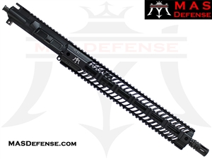 "16"" 300 BLACKOUT AR-15 BARRELED UPPER - MAS DEFENSE SQUADRON 15"" LIGHTWEIGHT QUAD RAIL"