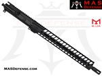 "16"" 9MM AR-15 BARRELED UPPER - MAS DEFENSE NERO 15"" M-LOK RAIL"