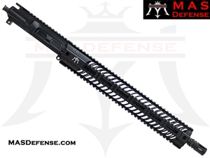 "16"" 9MM BARRELED UPPER - MAS SQUADRON 15"" LIGHTWEIGHT QUAD RAIL"