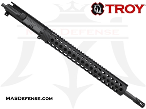 "18"" .223 WYLDE BARRELED UPPER - TROY ALPHA RAIL 15"""