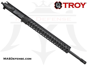 "20"" .223 WYLDE BARRELED UPPER - TROY ALPHA RAIL 15"" - BALLISTIC ADVANTAGE BARREL"