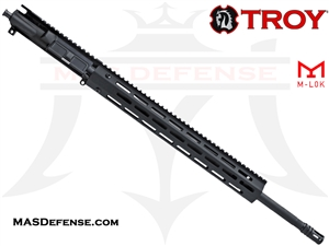 "20"" .223 WYLDE BARRELED UPPER - TROY M-LOK RAIL 15"" - BALLISTIC ADVANTAGE BARREL"