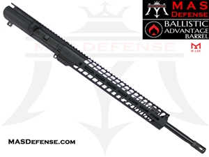 "20"" .308 AR-10 BARRELED UPPER - MAS DEFENSE NERO 15"" M-LOK RAIL - BALLISTIC ADVANTAGE BARREL"
