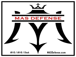 MAS DEFENSE STICKER - LOGO 4X3