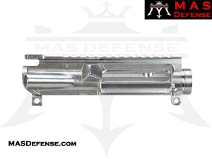 MAS DEFENSE AR-15 UPPER RECEIVER - NON ANODIZED