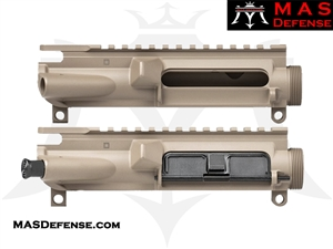 MAS DEFENSE AR-15 UPPER RECEIVER - FLAT DARK EARTH FDE