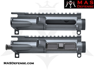 MAS DEFENSE AR-15 FORGED UPPER RECEIVER - STEALTH GREY H-188 MAGPUL