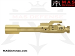 M16 BOLT CARRIER GROUP 5.56 & 300 BLACKOUT BCG - ION GOLD TITANIUM NITRIDE (TiN)