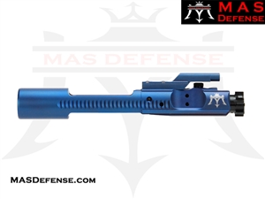 M16 BOLT CARRIER GROUP 5.56 & 300 BLACKOUT BCG - BLUE (PVD)