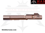 AR-9 9MM BOLT CARRIER GROUP GLOCK AND COLT BCG - RADIANT BRONZE (ROSE GOLD)