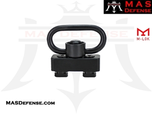M-LOK MOUNT WITH QUICK DETACH SLING SWIVEL