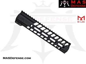 "***BLEM*** MAS DEFENSE 9.87"" NERO M-LOK FREE FLOAT"